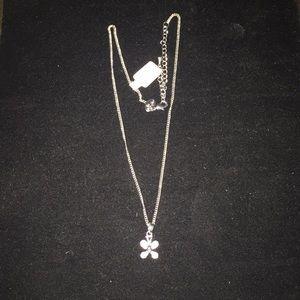 Lia Sophia butterfly necklace